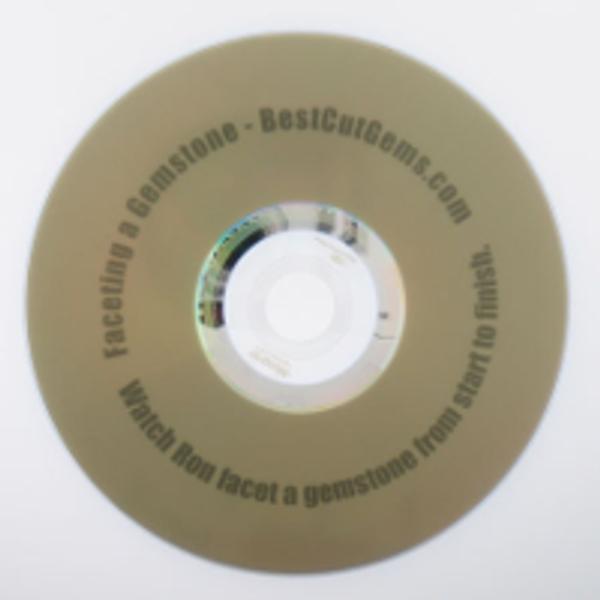Faceting a Gemstone DVD