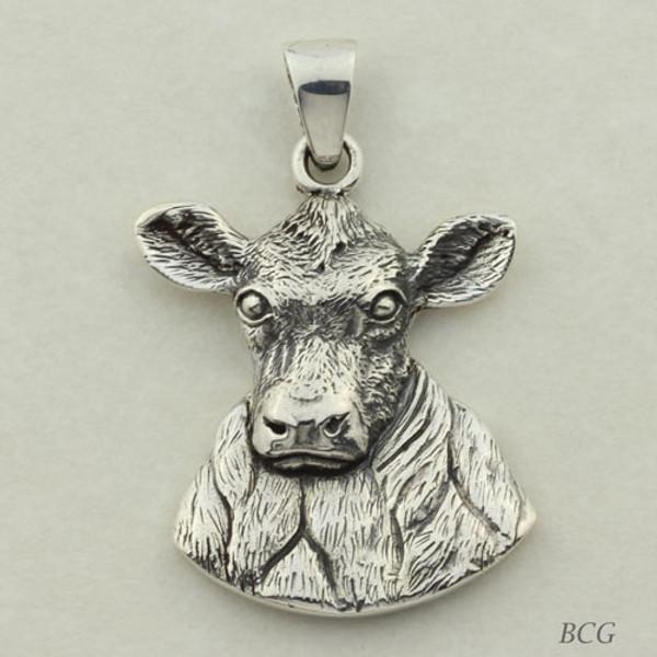 Gem the Cow Pendant #TPD-4152