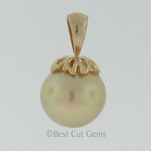 Golden South Sea Pearl Pendant #GP-1125