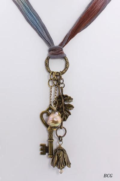 Kasumi Pearl Bohemian Necklace #20