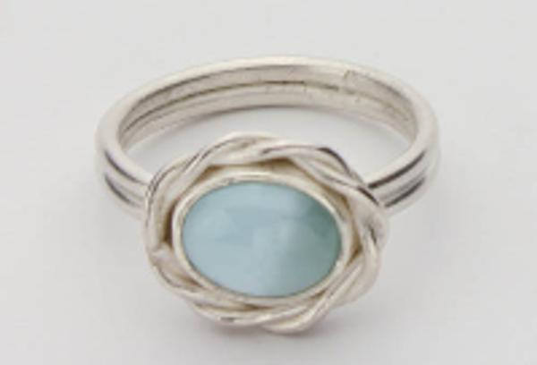 DesignedbyLin Larimar Silver #RI-401