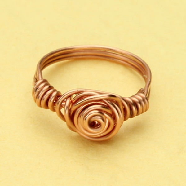 Love Knot Copper Ring  #RI-304