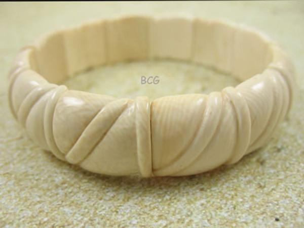Genuine Woolly Mammoth Ivory Bracelet #850