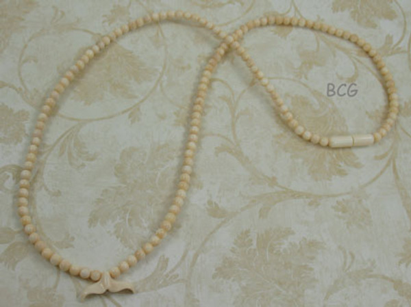 Genuine Natural Mammoth Ivory Necklace #950