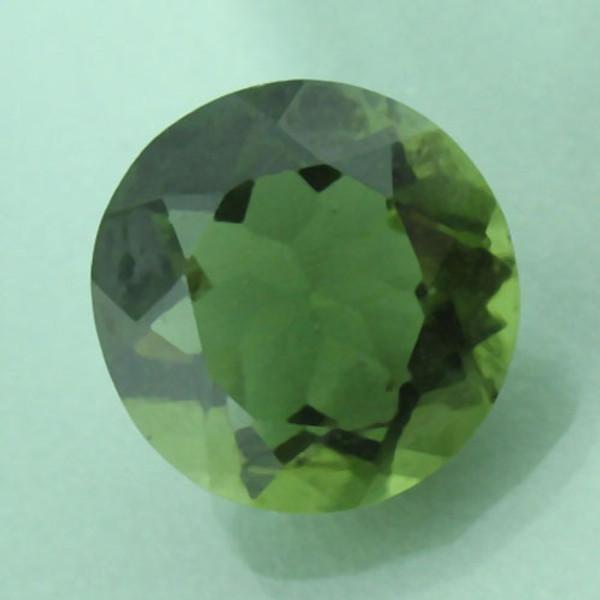 Genuine 12 MM Round Natural Moldavite #G-2317