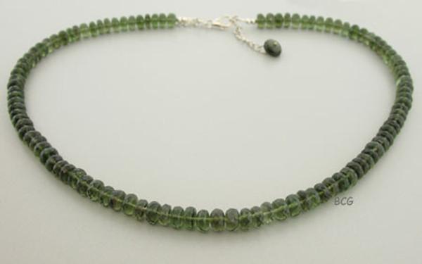 Beautiful Genuine Moldavite Necklace #1322