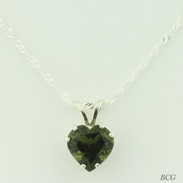 Genuine Moldavite!  Beautiful Moldavite Necklace #706