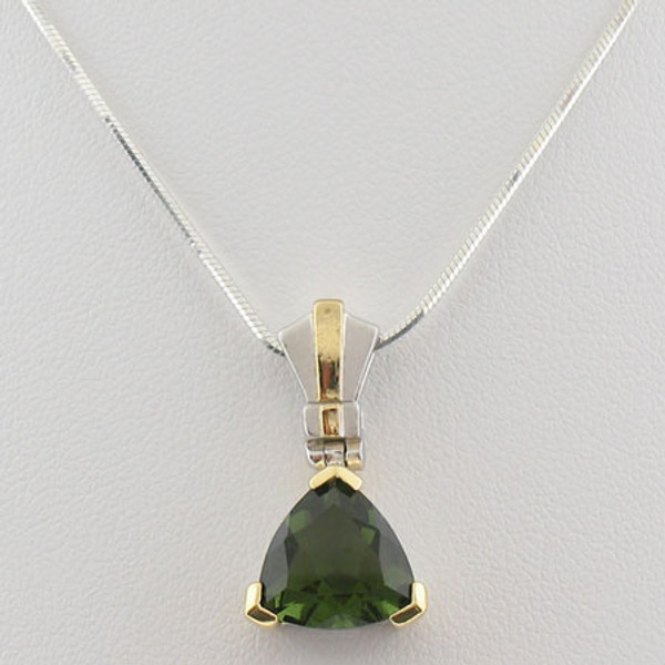 Beautiful Moldavite Necklace #717