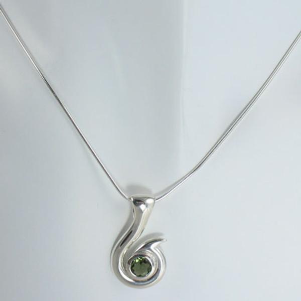 Genuine and Rare, Moldavite Necklace #719