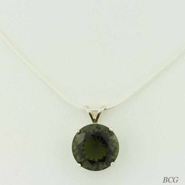 Genuine Moldavite! Beautiful Moldavite Necklace #764