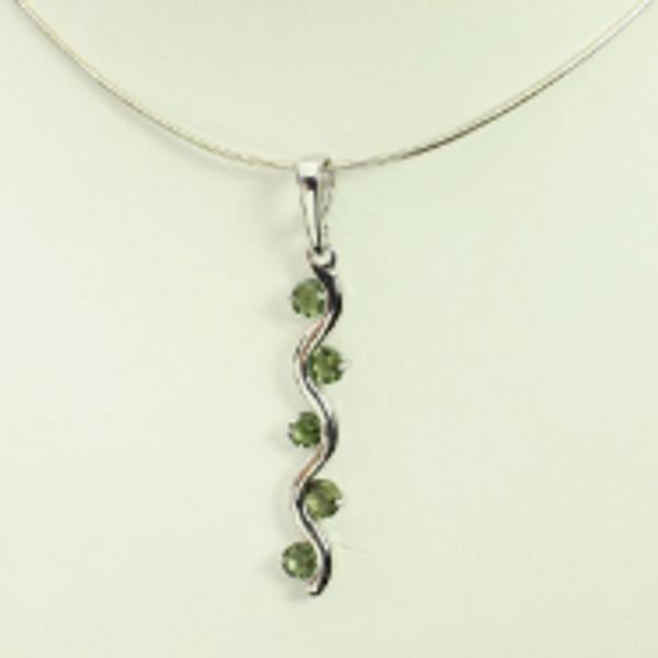 Beautiful Genuine Moldavite Necklace #NE-335