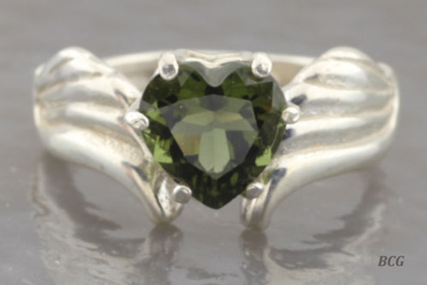 Genuine Moldavite Ring #0741!