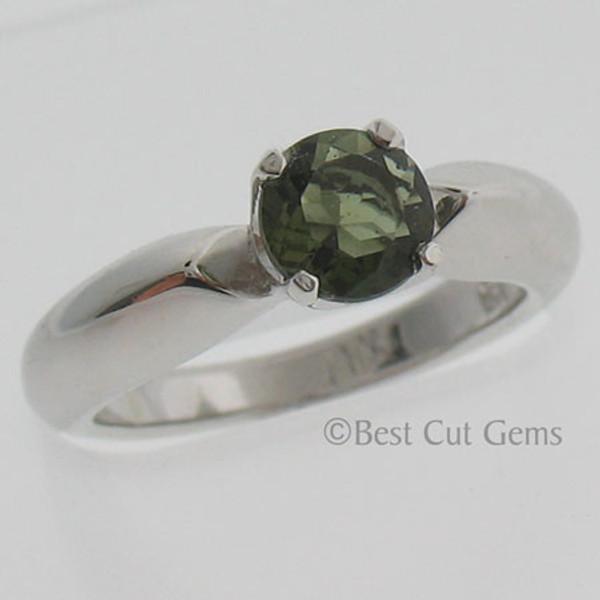 Genuine Moldavite Ring #760