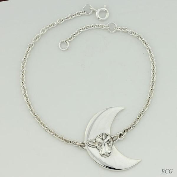 Moonbeam & Diamonds Moo-n Cow Bracelet TBL-301