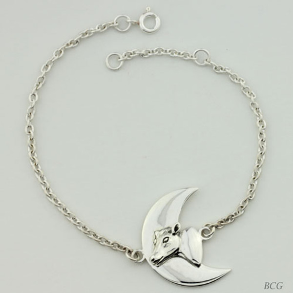 Moonshine the Moo-n Cow Bracelet