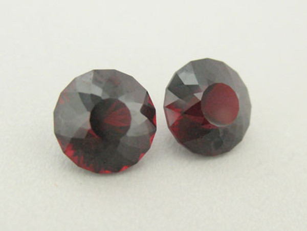A Perfectly Matched Pair of Malaya Garnets #IT-1468