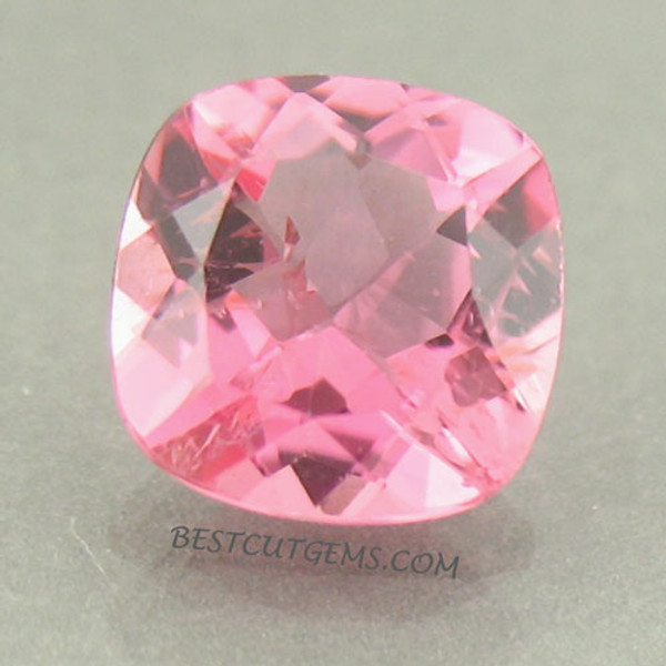 Bubble Gum Pink with Rose color overtone Tourmaline #G-1987