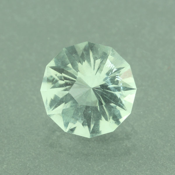 Green Prasiolite #G-2389 Custom faceted