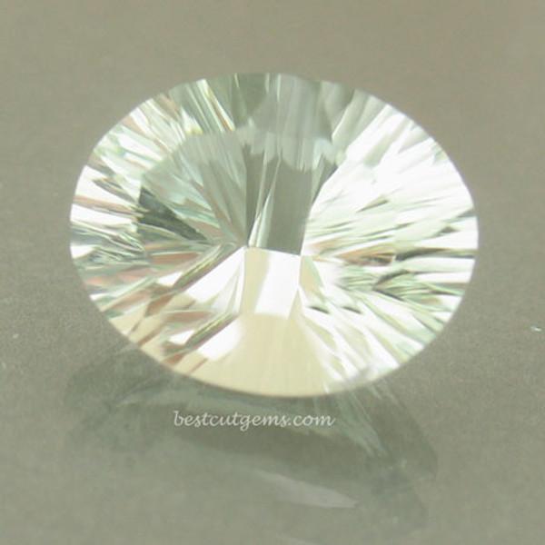 Mint Green Prasiolite - Green Quartz #IT-1856
