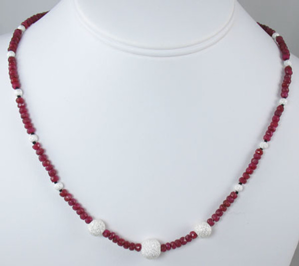 Ruby Necklace BCG-1108012