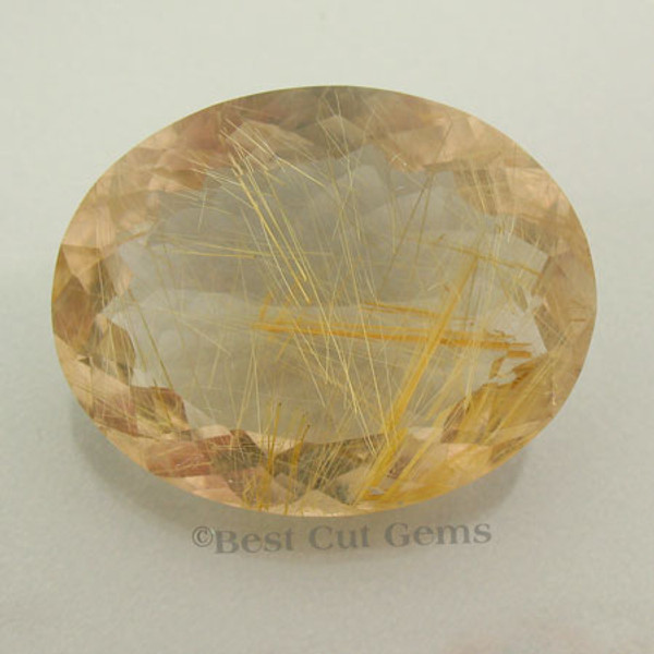 Rutilated Quartz with Gold colored Rutile #IT-1438