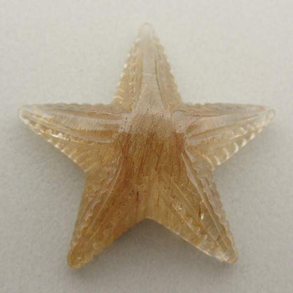 Rutilated Quartz Starfish #IT-938