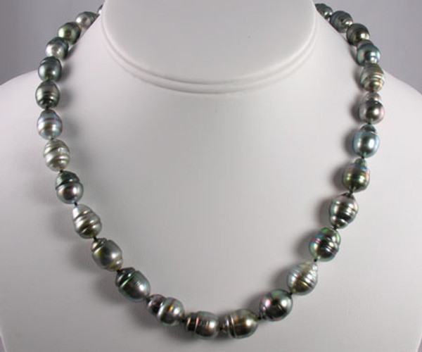 Tahitian Pearl Strand Necklace #1102