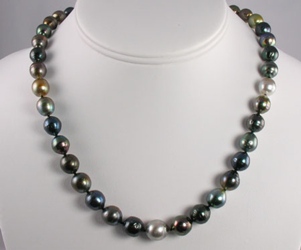 Tahitian Pearl Strand Necklace #1103