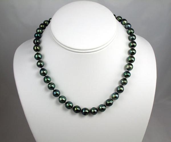 Tahitian Pearl Strand, Bracelet & Earrings  #1104