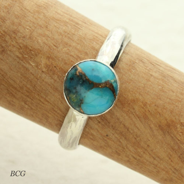 Turquoise Sterling Silver Ring #RI-316