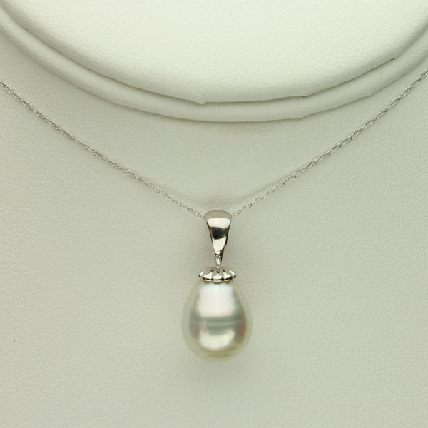 White South Sea Pearl Necklace #WH-1140