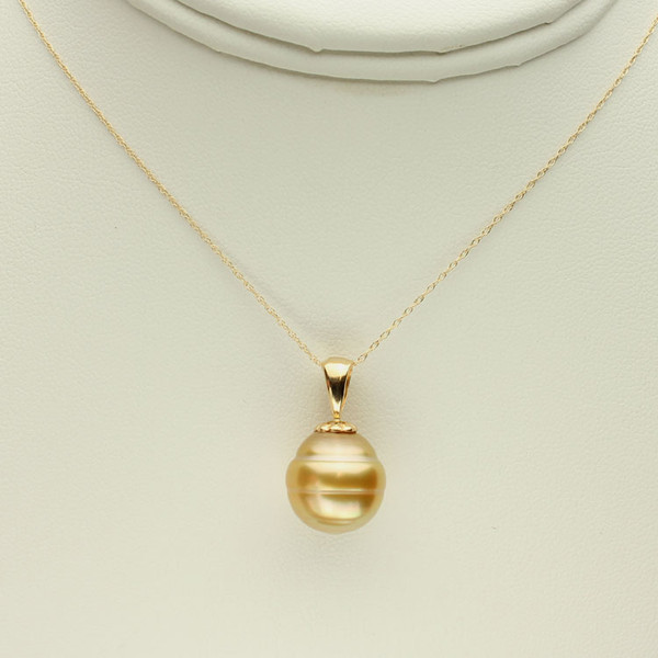 Golden South Sea Pearl Necklace GP-1128