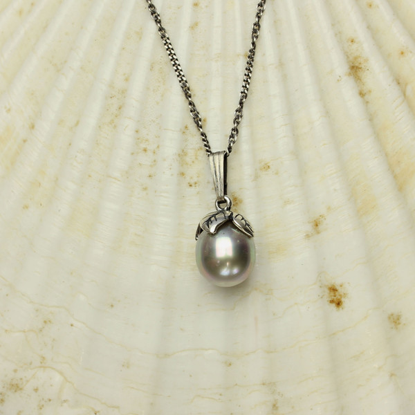 Tahitian Pearl Necklace #NE-475B