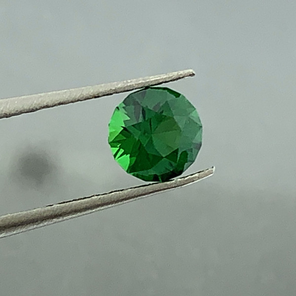 Natural Chrome Green Garnet Gemstone!