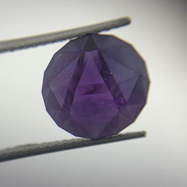 Natural Purple Amethyst Gemstone!