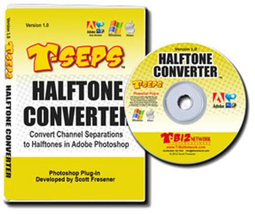 T-Seps Halftone Converter - CD Version