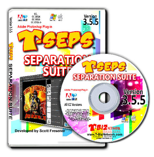 T-Seps 3.5.5 Separation Suite - Upgrade from T-Seps 1.0 or 2.0