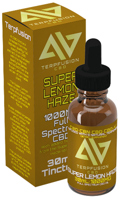 Terpfusion CBD Super Lemon Haze 1000mg Tincture