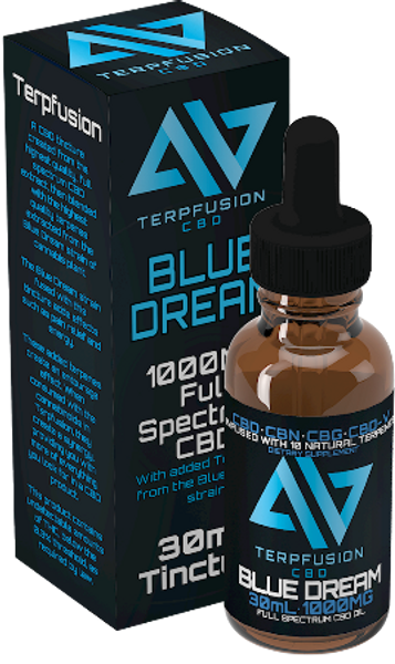 Terpfusion Terpene Infused CBD- Blue Dream- 1000mg