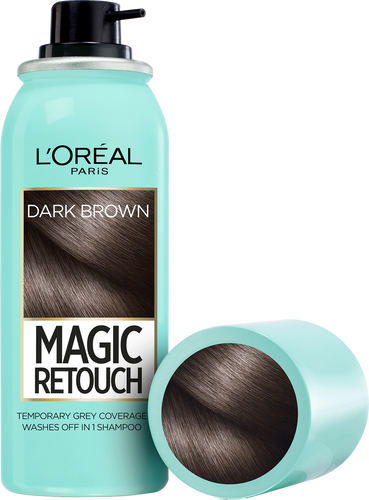 L'oreal Paris Magic Retouch Root Touch Up Hair Color Spray - Dark Brown 75ML buy online in Pakistan