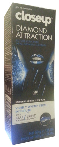 Closeup Diamond Attraction Visibly White Teeth Gel 50g shop online in pakistan