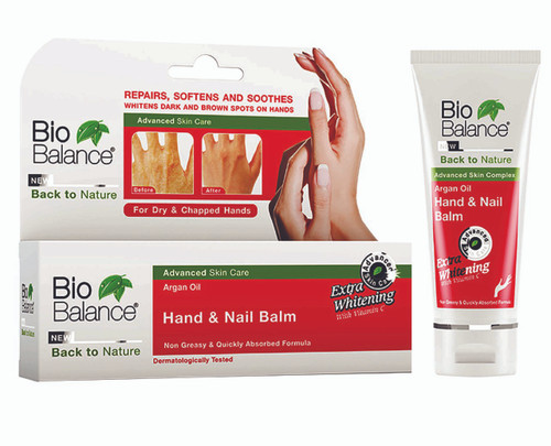 Bio Balance Argan Oil Hand & Nail Balm 60ML shop online in pakistan best hand nail products