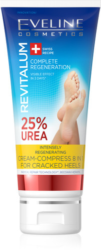 Eveline Cream Compress 8 in 1 For Cracked Heels. Lowest price on Livewell.pk.