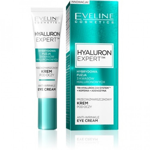 Eveline Hyaluron Expert Eye Cream 15 ML. Lowest price on Livewell.pk.