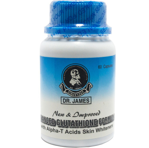 Dr.James Advanced Glutathione Skin Whitening 500mg 60 Capsules