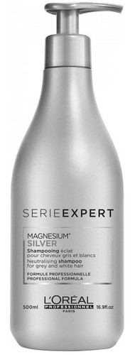 L'Oréal Professionnel Serie Expert Magnesium Silver Shampoo 500 ml. Lowest price on Livewell.pk.