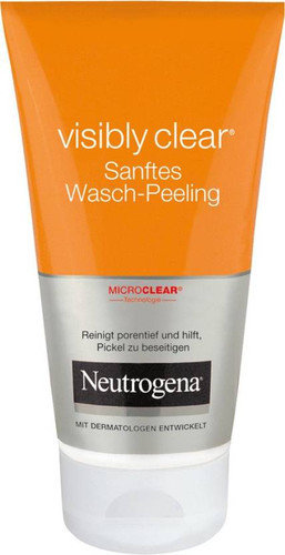 Neutrogena Visibly Clear Sanftes Wash Peeling Gel 150ml