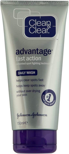 Clean & Clear Advantage Cleansing Wash 150ml shop online in pakistan