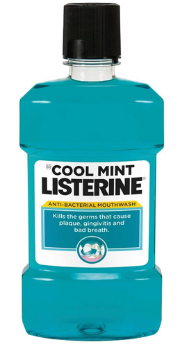 Listerine Cool Mint Anti-Bacterial Mouthwash shop online in pakistan