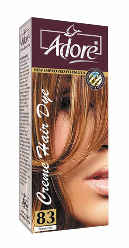 Adore Cream Hair Dye 83 Burgundy Rs 150 Only Lowest Price on Livewell.pk